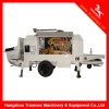 TM100D stationary trailer concrete pump (diesel engine)