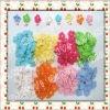 1.8cm cotton hand apparel crochet flower applique