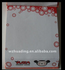 Customized sticker notepad