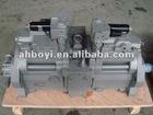 Kobelco SK200-8 main pump replacement