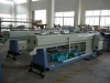 Double-strand pipe production line