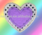 embroidery rhinestone patch