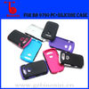 Newest design PC+Silicone covers for BB Bold 9790