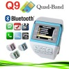 Watch Phone GSM 13 PM Camera FM MP3 Blue Q9