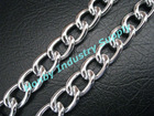 popular 3.2mm size silver color metal link chain curtain