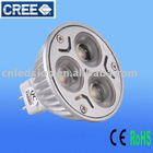 3W Dimmable MR16 LED LAMP (CREE LED,Magnesium)