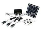 2012 New Super Bright Portable Solar Energy Light System With Mobile Charge Function