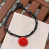 Rose Necklace Chinese Style Jewelry Craft Necklace