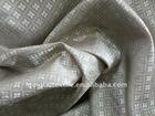 coin design viscose polyester fabric