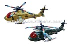 pull wire mini toy helicopter for with two color mixed packing
