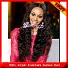 Top quality virgin human hair full lace wig( size from 12inch to 24inch in stock)