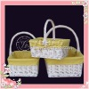 2012 Hottest Hand-woven ikea storage baskets with Handle