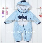 High quality wind proof & thick Baby Romper with hat for Winter, baby winter clothes , In-stock.ST-C097
