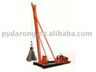 punching pile driver (building piling, monkey driver) for bridge piling