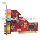 PCI Interface 5.1-channel Sound Card
