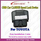 original canbus obd yaris speed lock