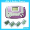Portable game with 5 in 1 Games