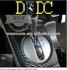 "Black 3D Twill Weave Carbon Fiber Vinyl Sheet Sticker 63cm x 120cm 24"" x 48"" Brand New"
