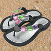 Ladies Beads Slippers