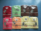 OEM manufacturer low price Stock combed cotton pique polo t shirt