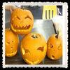 promotional pvc pumpkin Halloween mask