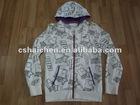 100%cotton korea style hoodies
