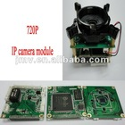 1080P H.264 cmos board camera module for Network video camera with 1/2.7'',FCC,CE,wifi,PoE function with IR-CUT and cable