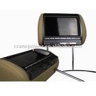 car dvd player with headrest car audio, sd card reader,IR, game