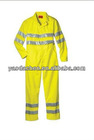 Aramid mechanics coveralls with 3M reflective strips