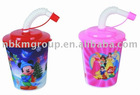 3D cheapest plastic promotional drinking cup