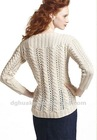 ladies knitted clothes fashion sweater designs lace cables women Pullover