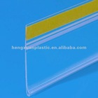 supermarket price tag holder with adhesive tape