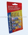 12-pc Binders Clips