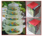 Cooking Pot Stocks J4201 Enamel Casserole Pot Sets