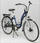 EN15194/CE electric bicycle with 36V/10Ah lithium battery,250W motor,7-speed SHIMANO DERAILLEUR
