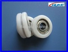 POM coated outer diameter 17mm sliding door roller[HN-517u]