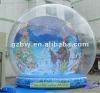 inflatable christmas snow