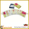 Hot selling children cardboard game cards