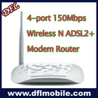 4-port 150Mbps Wireless N ADSL2+ Modem Router TD-W8951ND