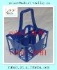 Popular &hot sale plastic beer bottle basket(different color)