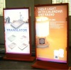 indoor and outdoor scrolling advertising signs