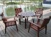 Outdoor furniture garden furniture wooden outdoor furniture YN-10