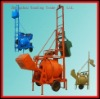Best selling JZC300 concrete mixer with ladder