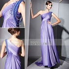 Coniefox One-Shoulder Quinceanera Party wears 81025
