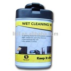 high quality non woven fabric computer cleaning wet wipes
