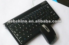 .4G USB wireless bamboo keyboard and mouse