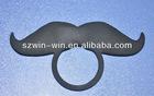 silicone mustache bottle clip