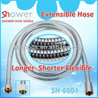 SH-6001 Stainless Steel Toilet Flexible EXtensible Shower Hose