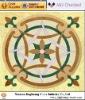 medallions water jet flooring patterns