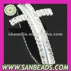 Fashion Crystal Cross Charm Beads For Bracelets Wholesale